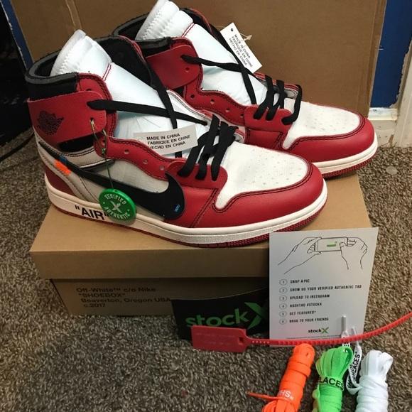 8d1ce5d7 Jordan Shoes | Off White 1 Chicago Stock X | Poshmark
